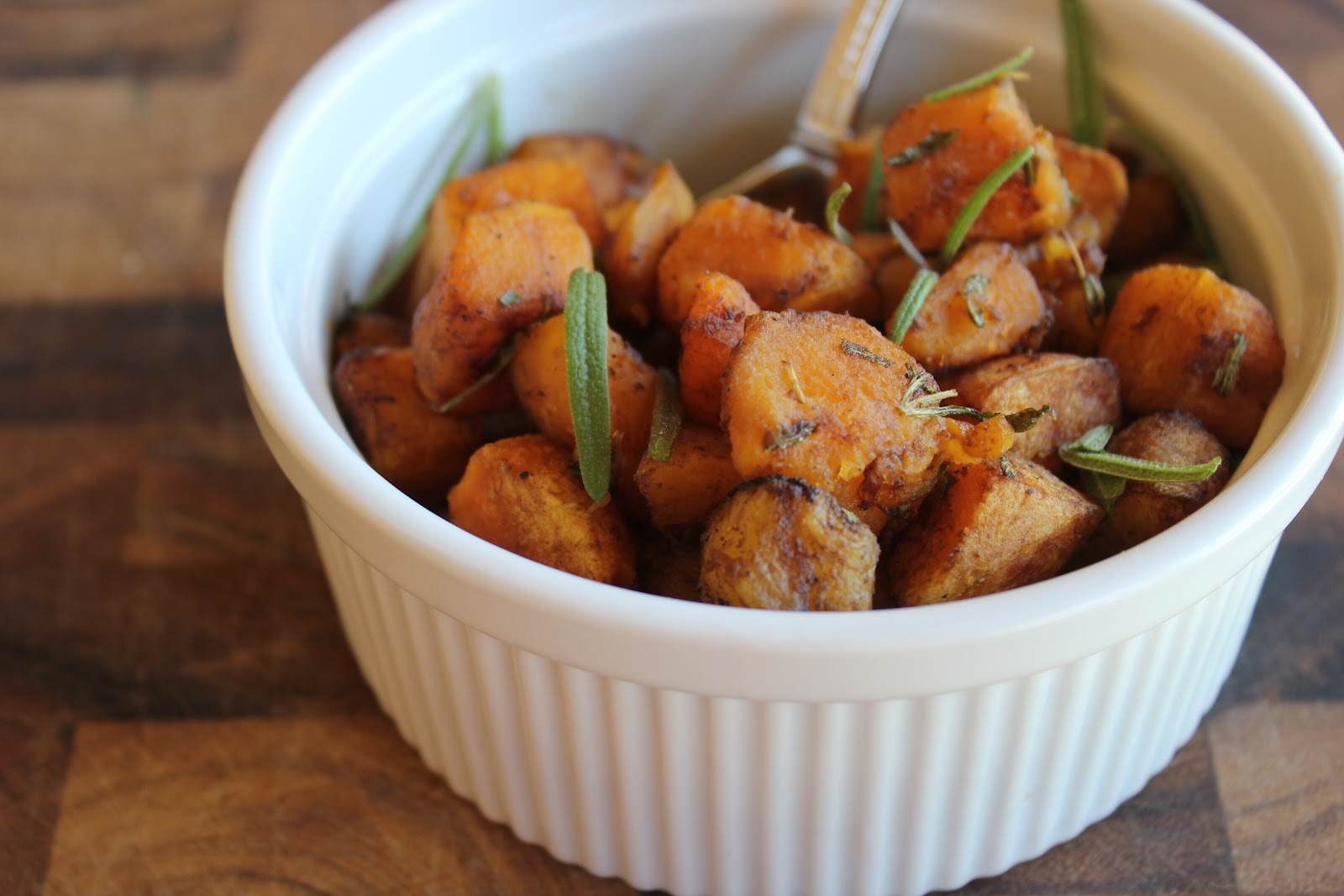 Roasted Rosemary Butternut Squash