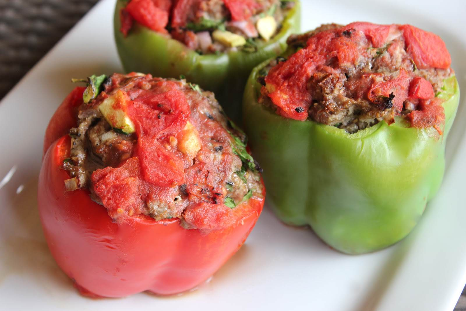 gaston stuffed peppers