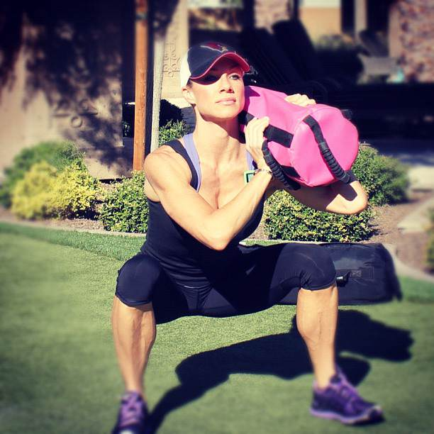 Bombshell Sandbag Workout
