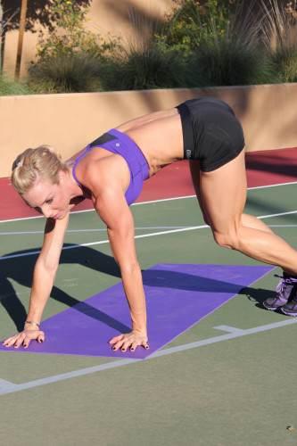 Plank Mat Jumps