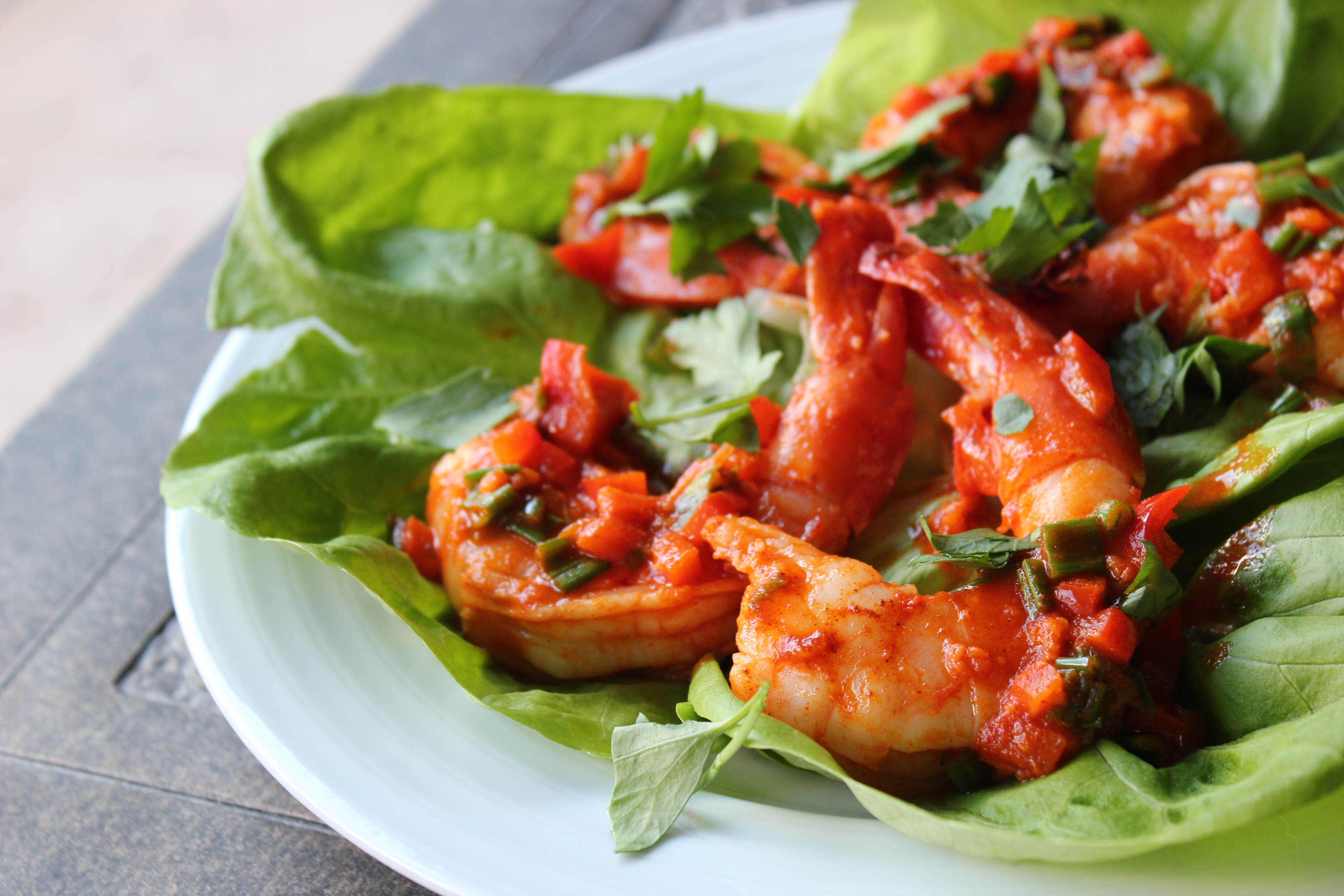 Paleo Sriracha Lime Shrimp | Tiffany Lee Gaston