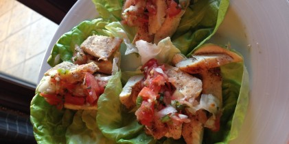 Paleo Chicken Lettuce Wraps