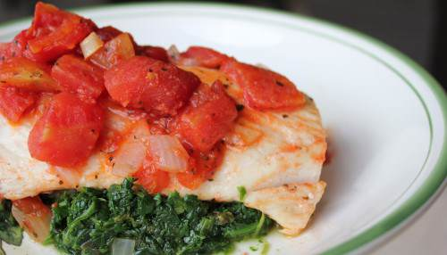 paleo tomato basil chicken