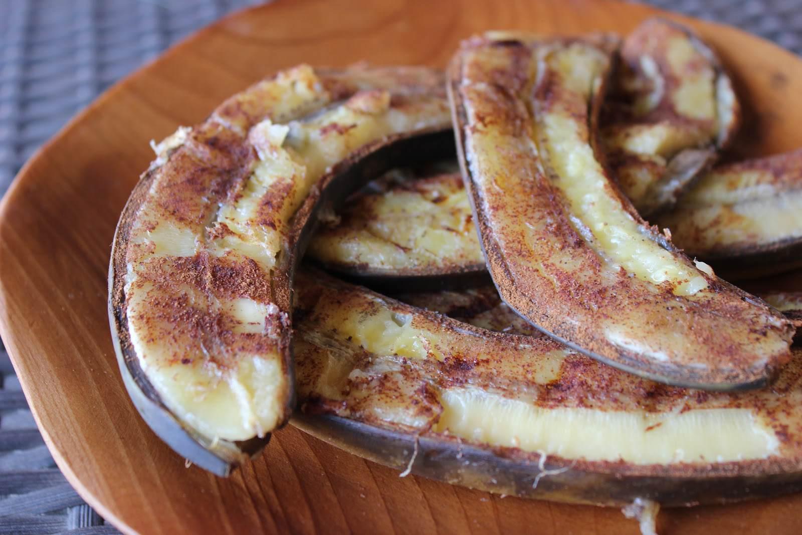 Paleo Grilled Bananas
