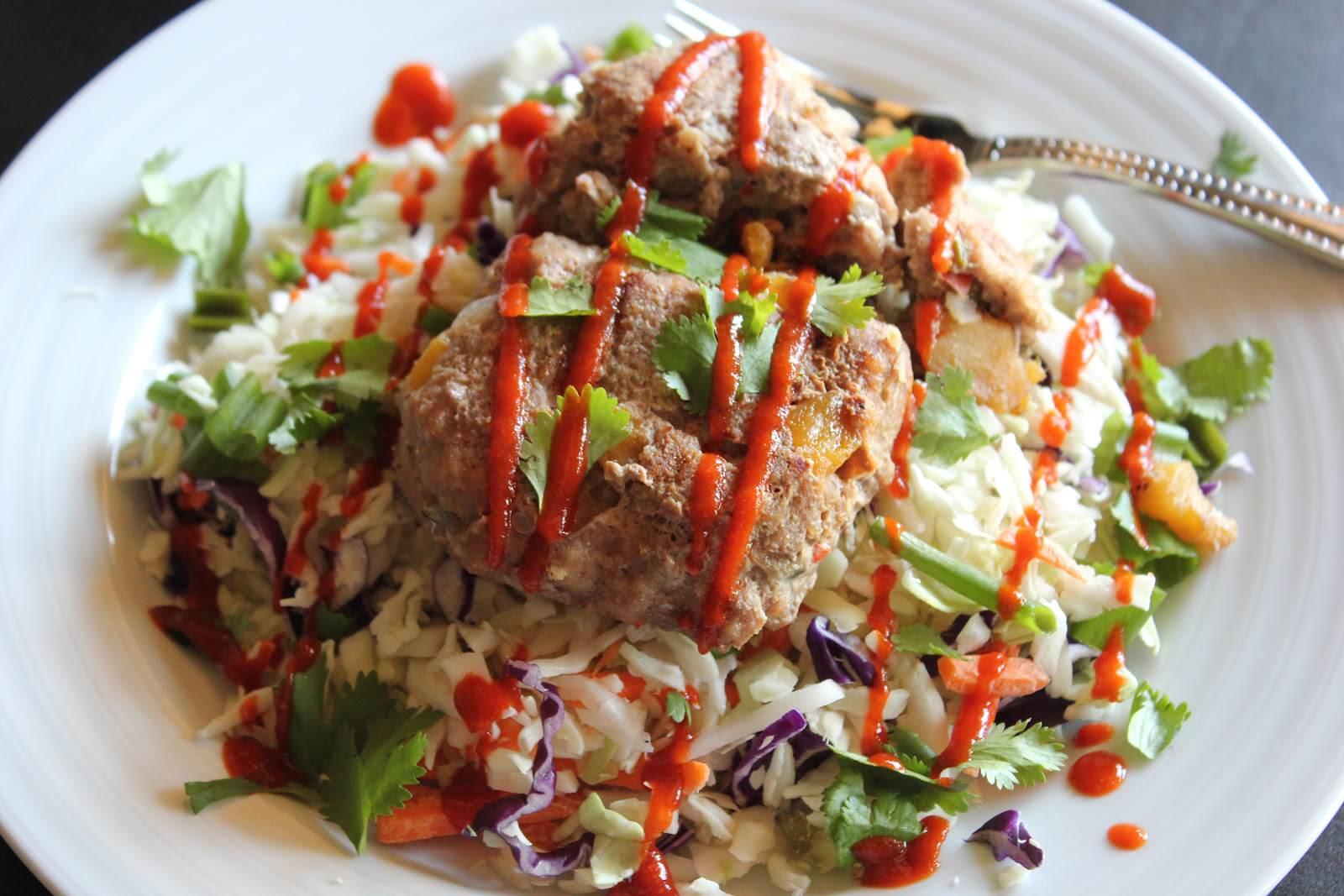 turkey burger salad