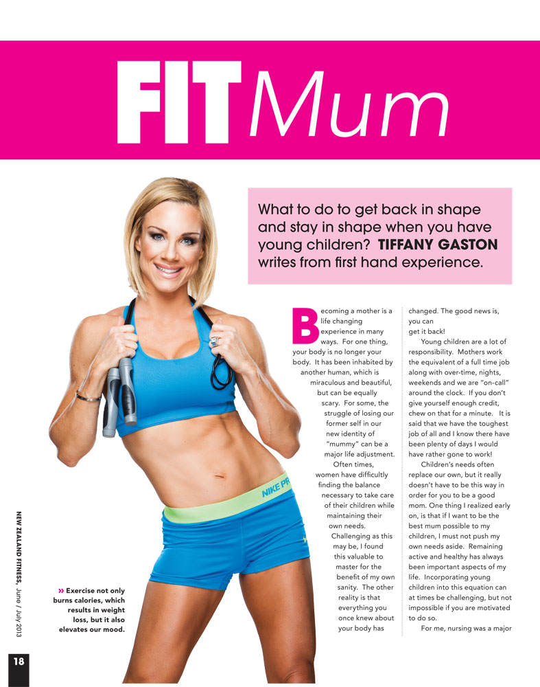 Fit Mom | Getting Back in Shape After Having Children