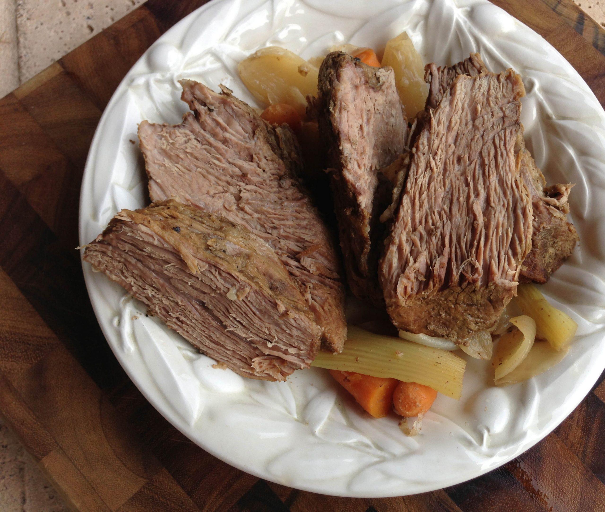 Slow Cooker Tri-Tip Roast