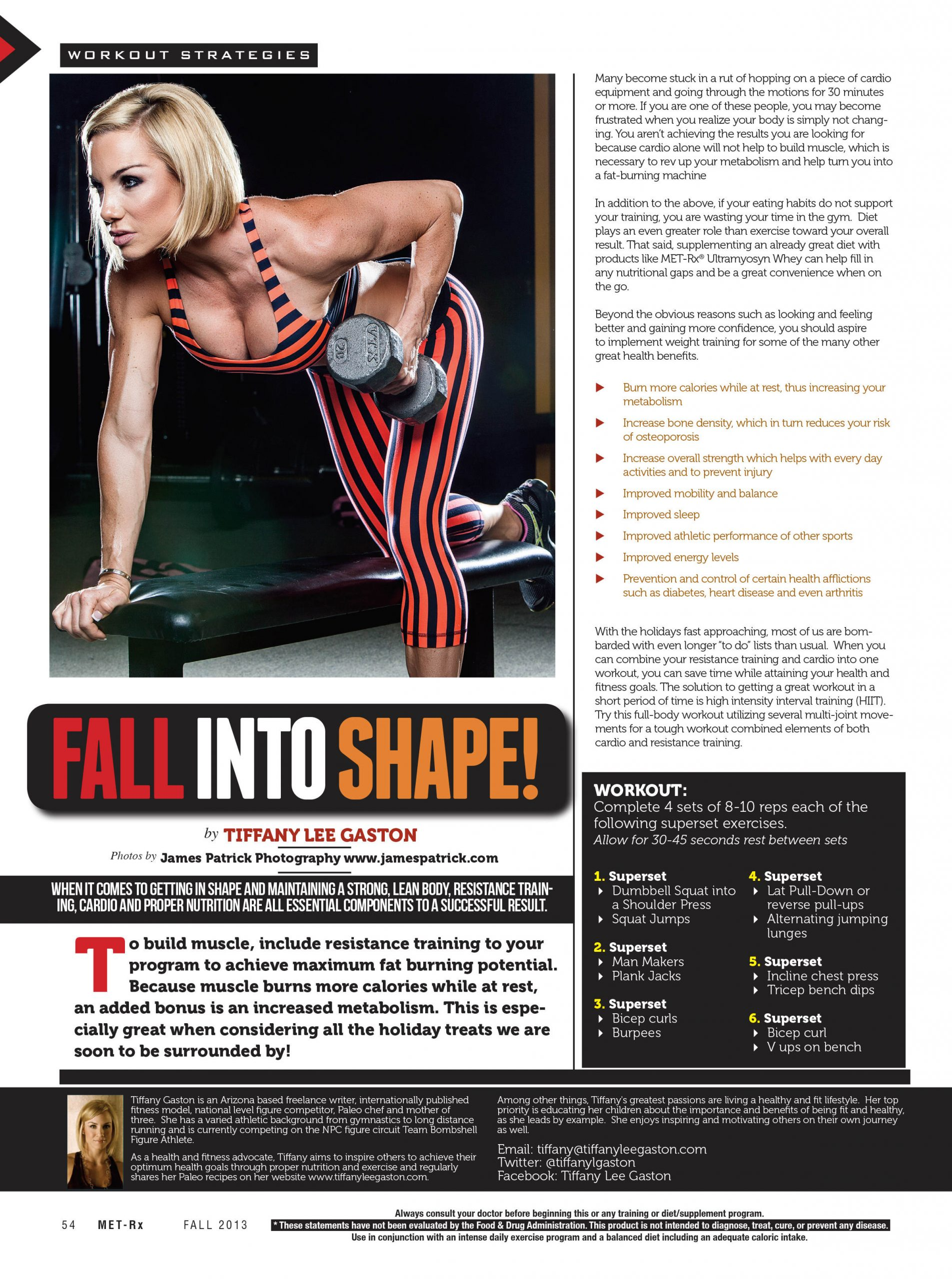 Fall Into Shape!