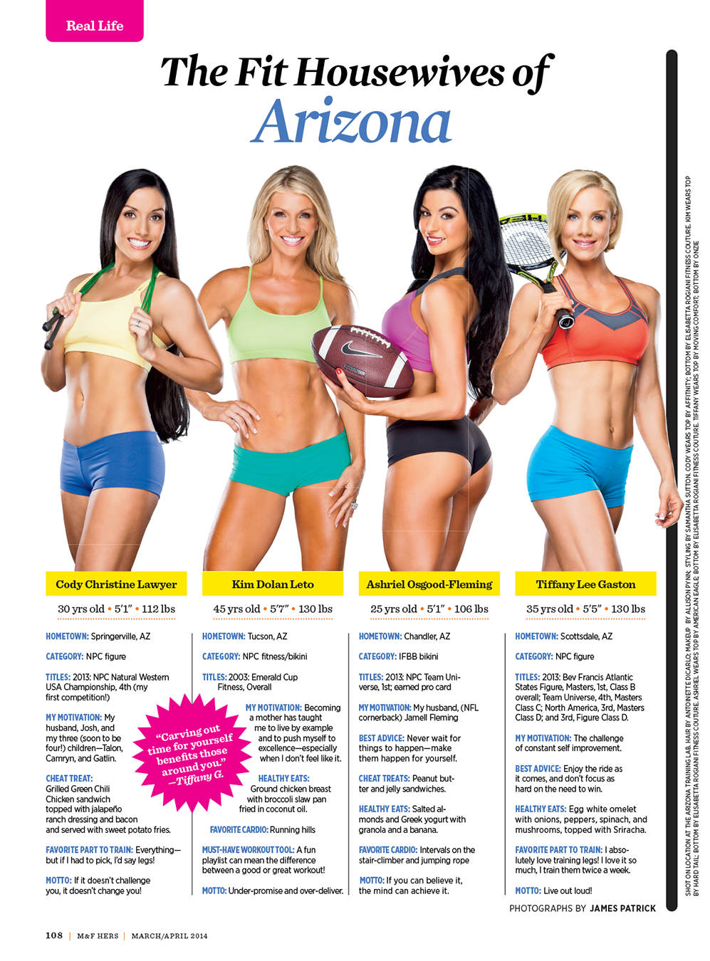 Behind the Scenes: The Fit Housewives of Arizona Photo Shoot Muscle and Fitness Hers