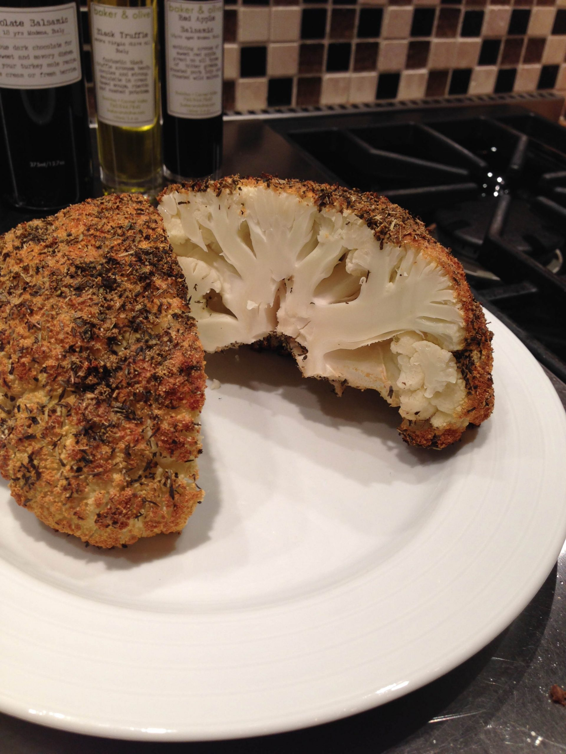 Whole Cauliflower Roast