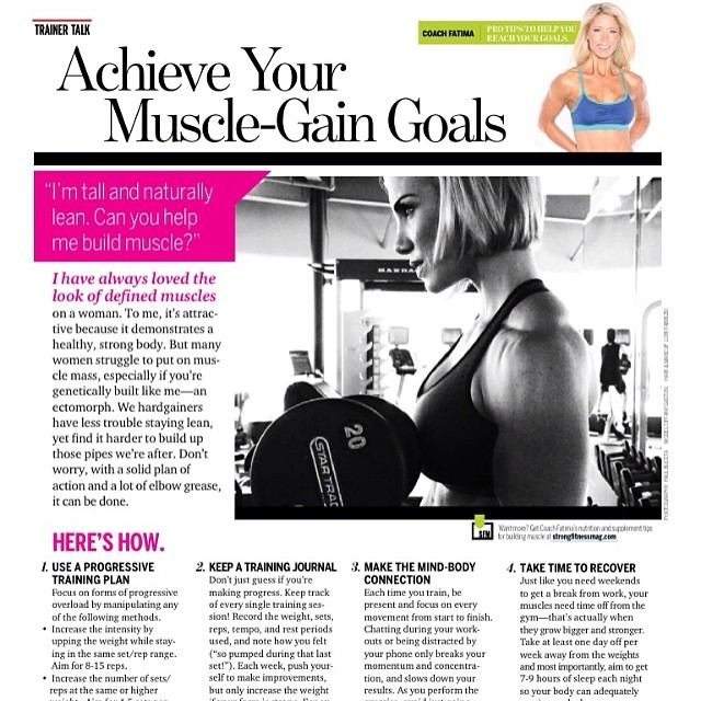 STRONG Fitness Magazine – Tiffany Lee Gaston